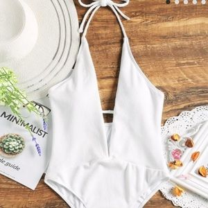White (Zaful) swimsuit